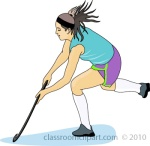 Field Hockey Clipart